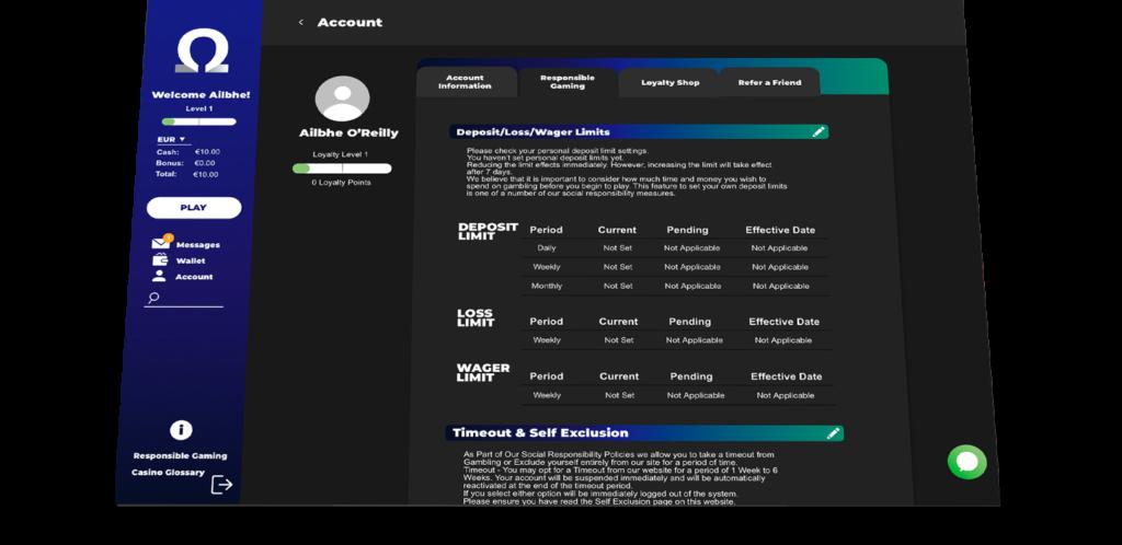 OMEGA Systems portal